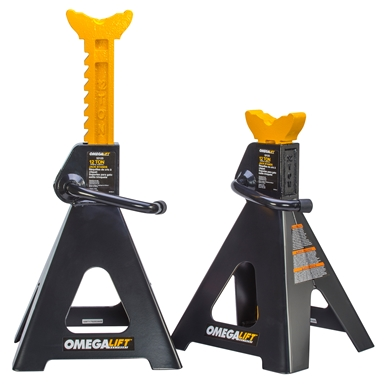Omega Lift Equipment Rachet Style Jack Stands 32125B
